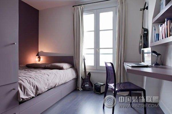 小户型卧室设计二简约卧室装修图片