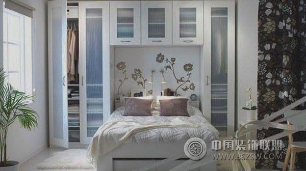 小户型卧室设计四-卧室装修效果图-八六(中国)装饰