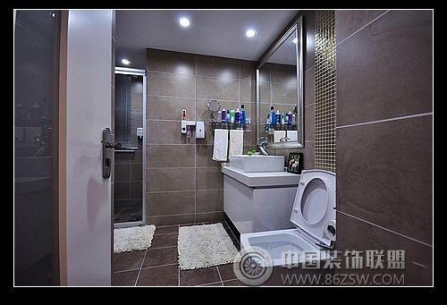 80平米简约家装-卫生间装修图片