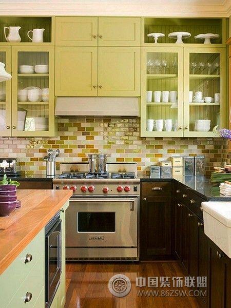 开放式厨房设计三 客厅装修效果图