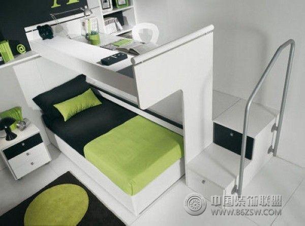 小户型空间利用客厅装修图片