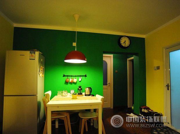 48平米幸福蜗居现代餐厅装修图片