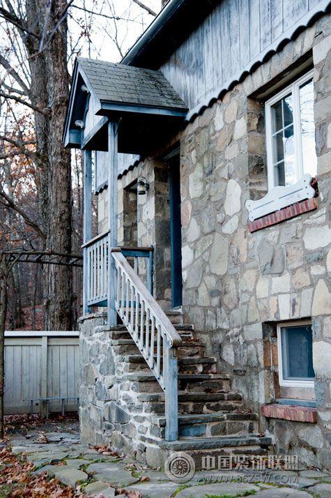 复古山间石头平房 阳台装修效果图 -复古山间石头平房 阳台装修图片