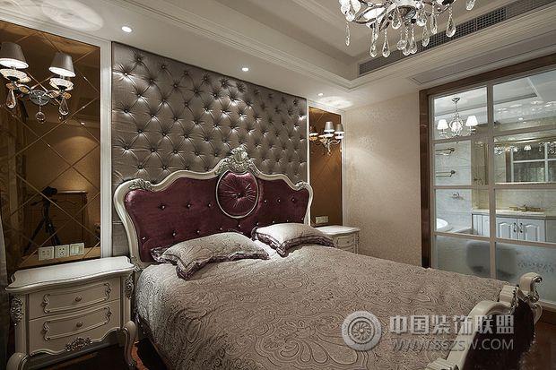 130平米欧式家居-卧室装修效果图-八六(中国)装饰