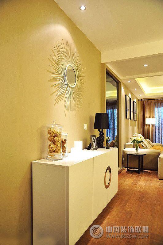 103平米浪漫簡約婚房-過道裝修效果圖-八六(中國)