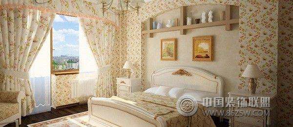 家居拱形壁龛设计-卧室装修效果图-八六(中国)装饰
