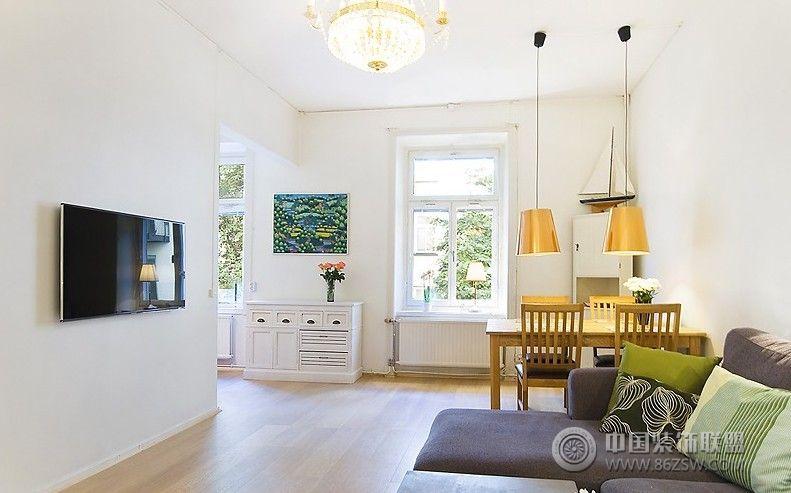 北欧复式小公寓整套大图展示_简约公寓装修效果图_八图片