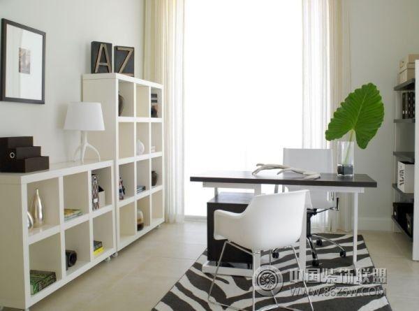 家庭工作室设计-书房装修图片