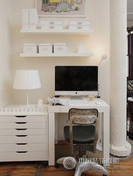 家庭工作室设计二-书房装修图片