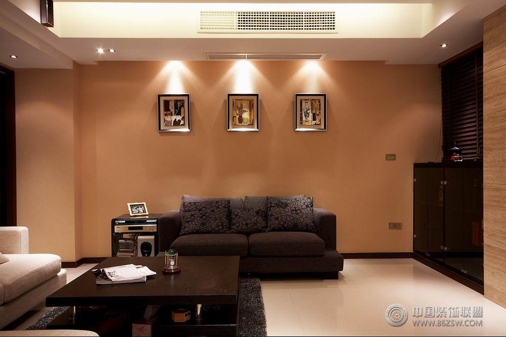 客厅装修效果图-水电设计院-二