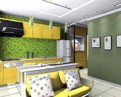 色彩各异的厨房设计