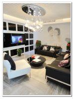 120平现代温馨婚房