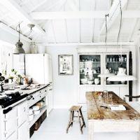 简约白色厨房设计二