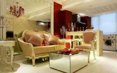 50平古典奢华复式公寓
