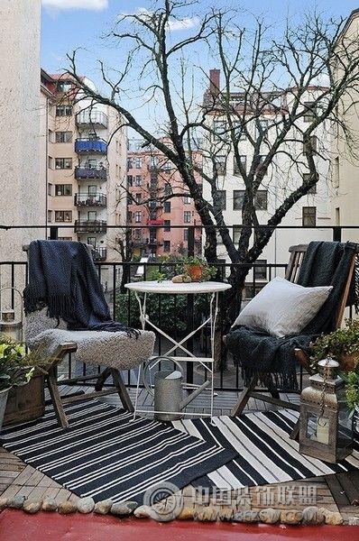 阳台创意设计客厅装修图片