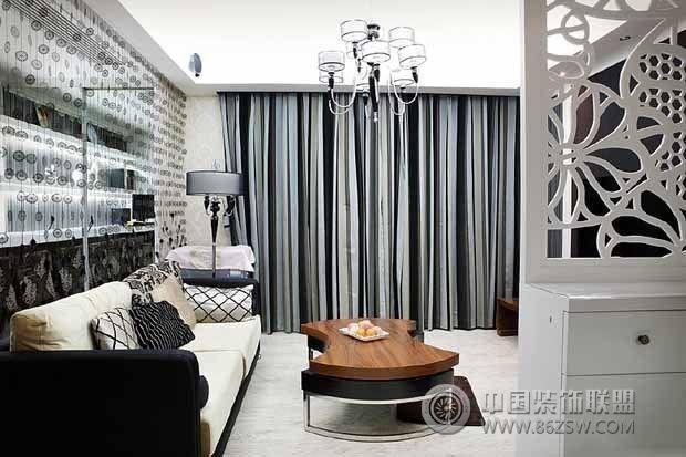 8万打造90平米现代美居客厅装修图片高清图片