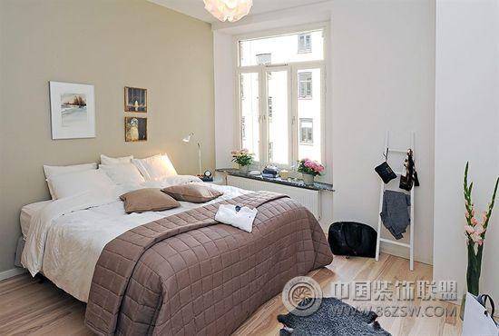 北欧风格卧室设计-卧室装修效果图-八六(中国)装饰