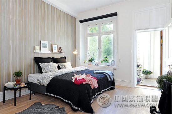 北欧风格卧室设计 书房装修图片