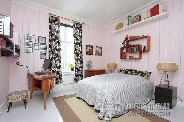 北欧风格卧室设计三-卧室装修效果图-八六(中国)装饰