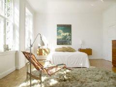 清新自然卧室风格二
