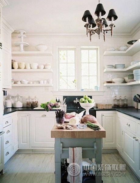 小户型开放式厨房二-厨房装修图片