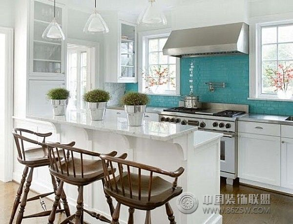 小户型开放式厨房二 客厅装修效果图 -小户型开放式厨房二 客厅装修图