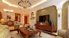 13万装修150平欧式美居
