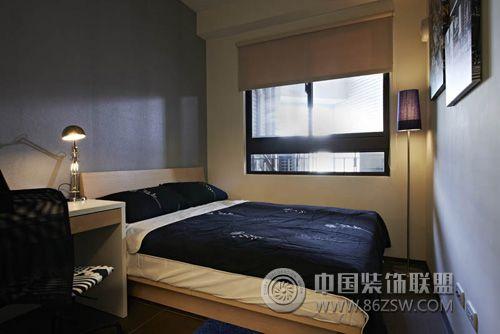 现代简约90平米 书房装修效果图高清图片