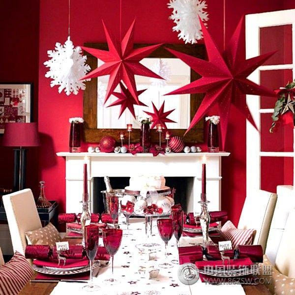 圣诞节家居设计方案-餐厅装修图片