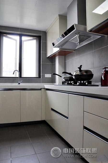 107平简约欧式美家-厨房装修图片