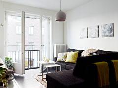 61平米现代黑白公寓