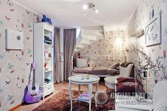 趣味儿童房室内设计 客厅装修效果图