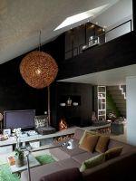 78平米黑白绿时尚公寓