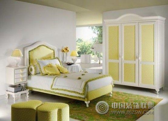 公主式卧房设计-卧室装修效果图-八六(中国)装饰联盟