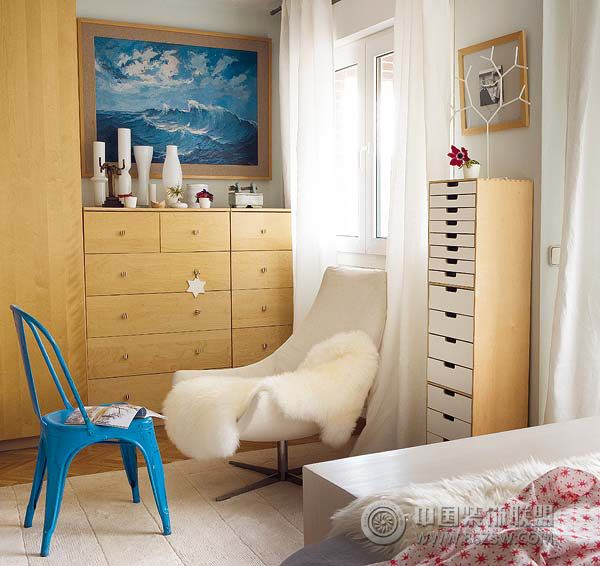 超温暖圣诞之家-卧室装修图片