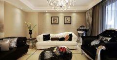 105平古典复式奢华居