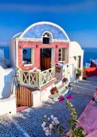 海边浪漫房屋
