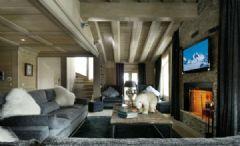 法国阿尔卑斯山木屋酒店