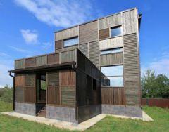 俄罗斯木拼贴住宅