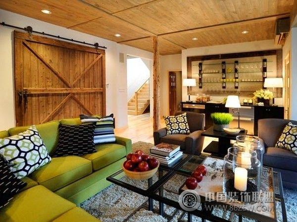 地下室装修设计风格-整套大图装修-方案展示效上海尤木室内设计图片