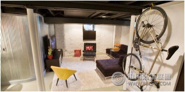 地下室装修设计方案三-过道装修效果图-八六装饰网