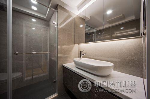 120平米中小户型完美设计简约卫生间装修图片