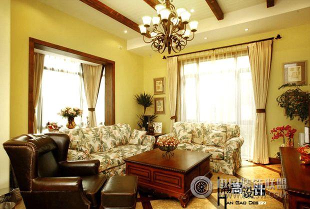 超级混搭美家混搭客厅装修图片