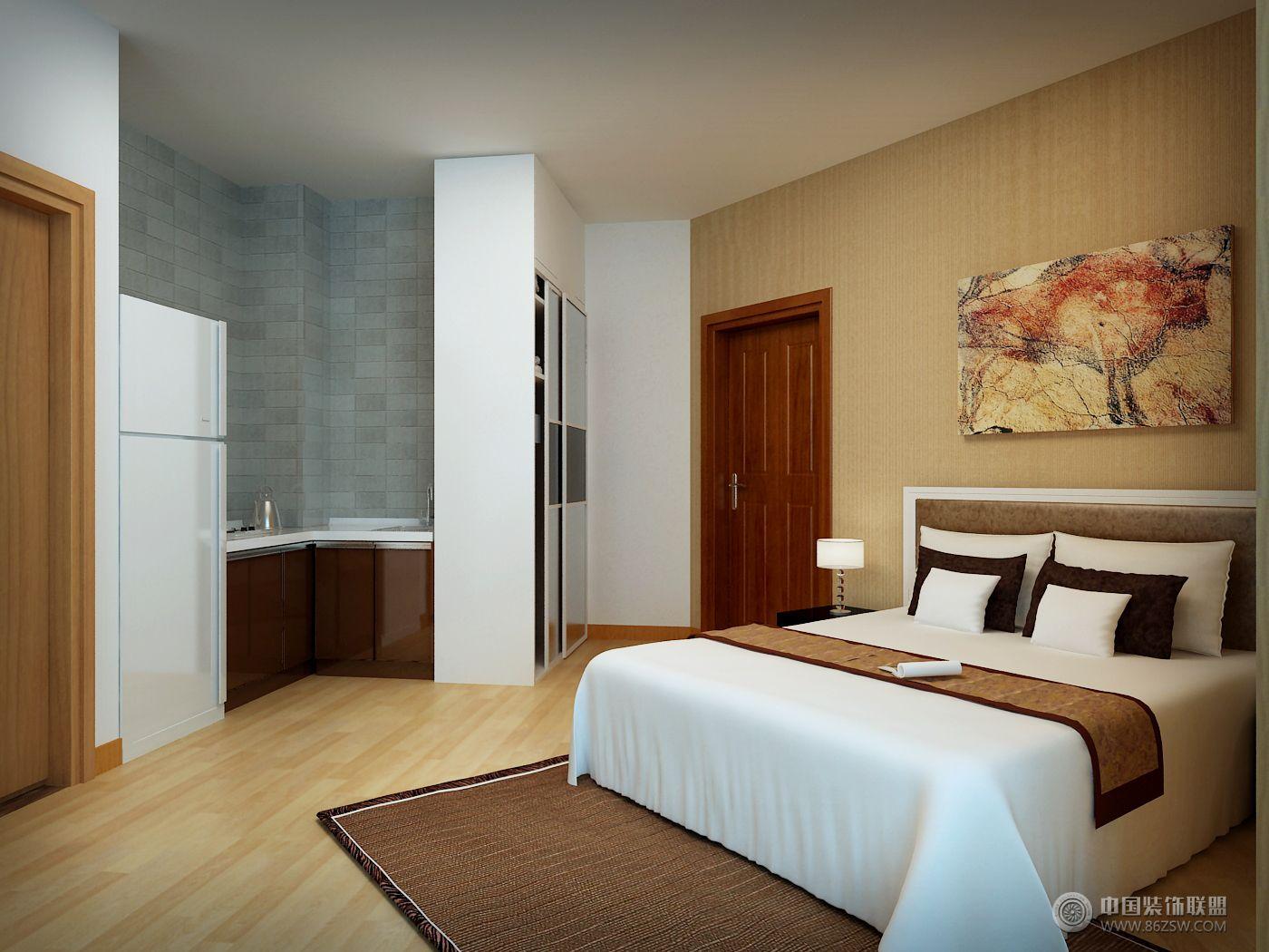 酒店式公寓02-卧室装修图片图片