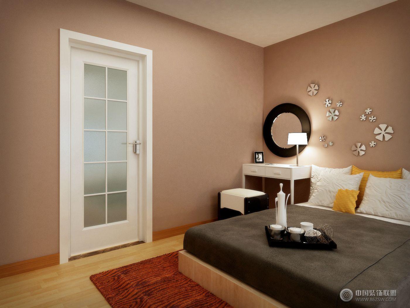 酒店式公寓05 书房装修效果图