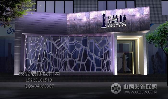 万丰慧城售楼部室内装饰设计方案-单张展示-售楼部图