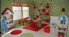 精巧布局的儿童游戏室  成年人的避世乐园