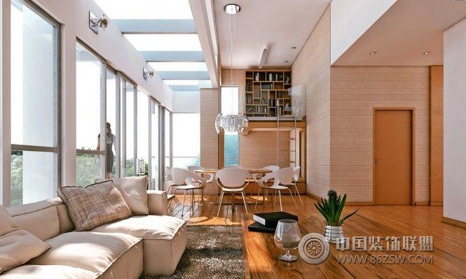 客厅餐厅一体化设计案例二-客厅装修图片