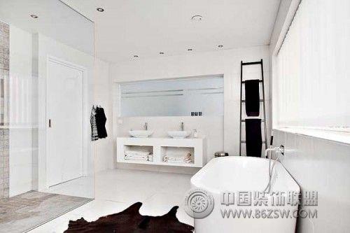 创意浴室设计案例现代卫生间装修图片