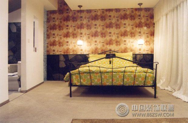 loft时尚设计案例-卧室装修效果图-八六装饰网装修